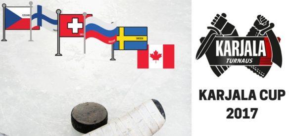 Hokejovy turnaj Karjala Cup 2017 Finsko Helsini Hartwall Arena