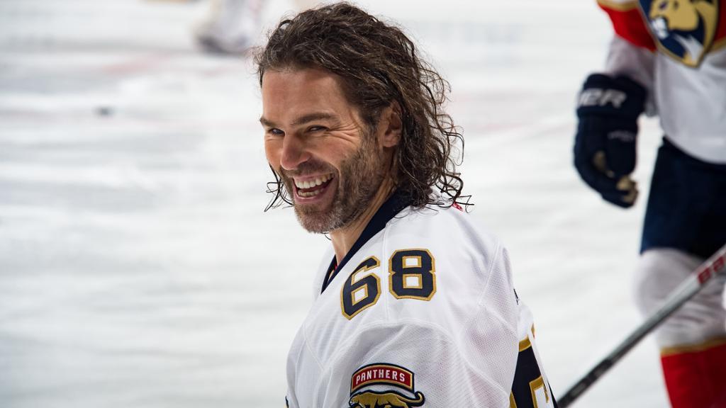 Jagr NHL 2017-2018 sezona Calgary Flames