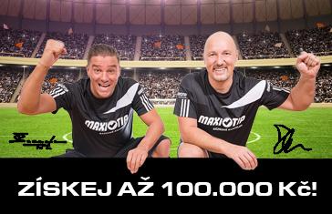 Maxitip vstupni bonus 100 000kc