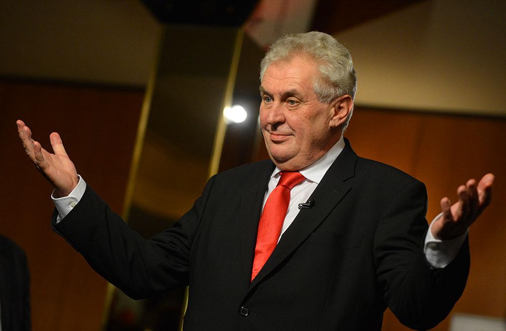 Milos zeman prezidentske volby 2018