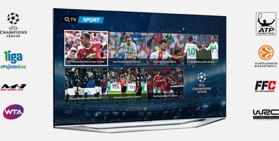 O2 tv online vysílání. Sportovní živé přenosy