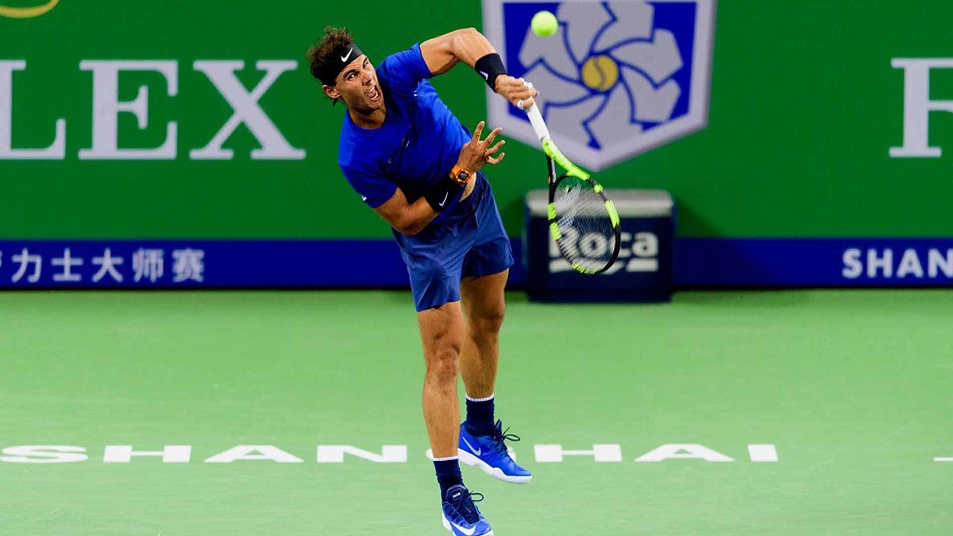 Rafael Nadal ATP Rolex Masters Shanghai 2017