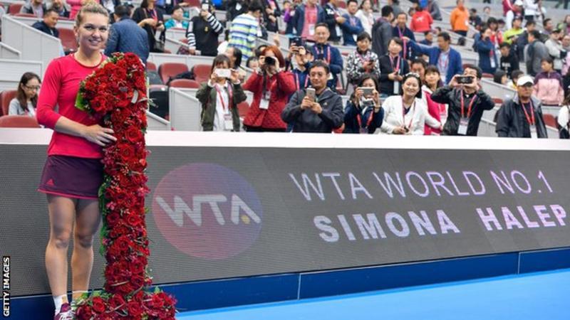 Simona Halep svetova jednicka na WTA Peking 2017