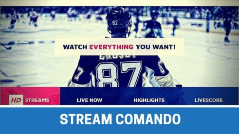 Stream comando - zive prenosy sportovni online