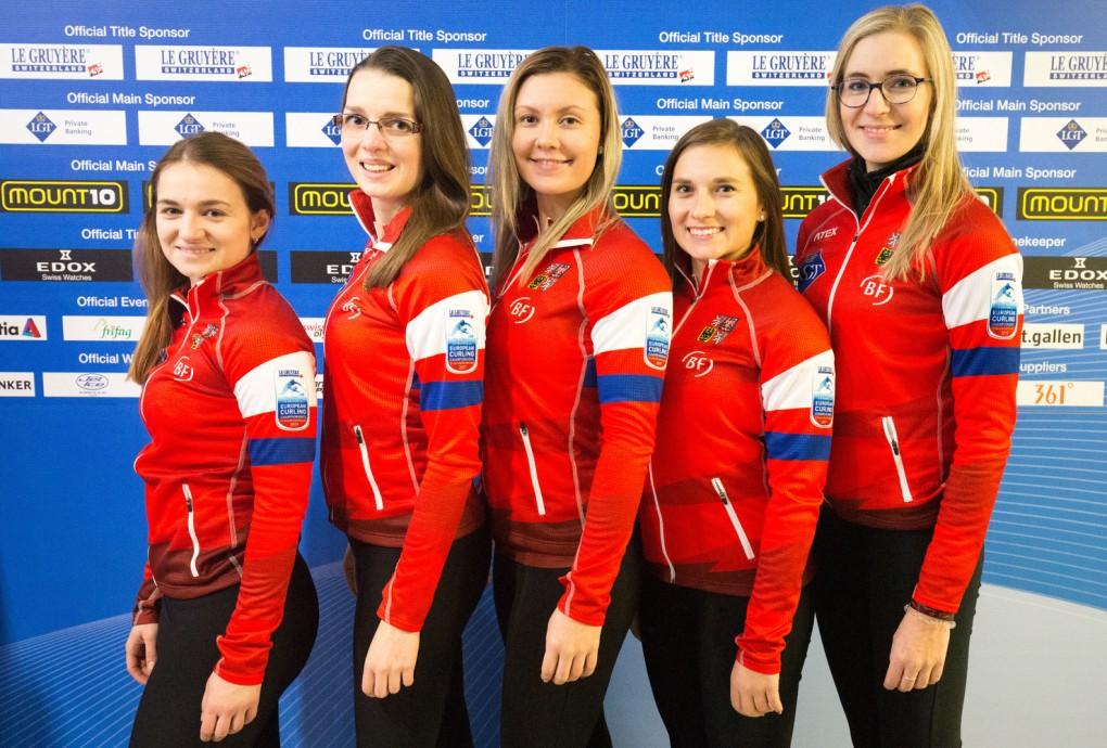 Curling Mistrovstvi evropy svycarsko 2017 ceska republika