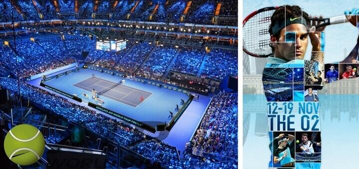 Tenis ATP turnaj mistru O2 arena Londyn 2017