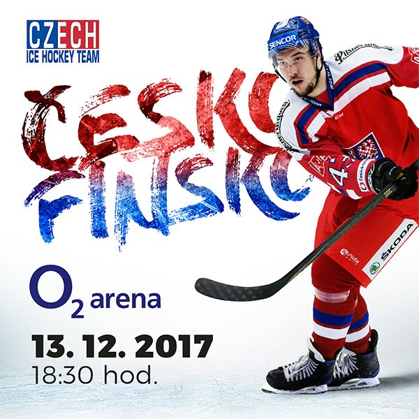 Channel One Cup Cesko Finsko O2 arena Praha