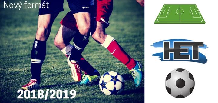 Fotbalova HET liga. Novy format souteze. Novy herni plan a rozpis zapasu (1)