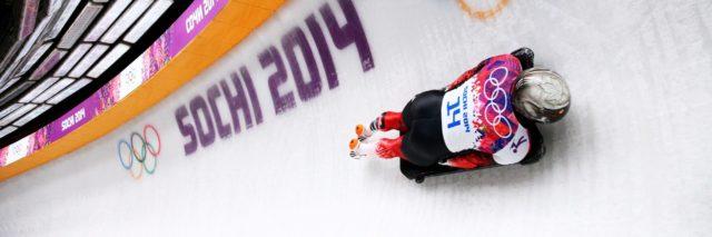 Zimní olympijský sport Skeleton