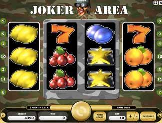 Kajot automaty - Joker Area