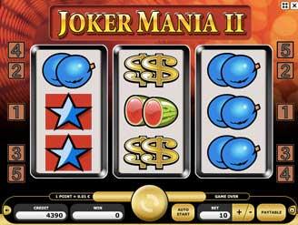 Kajot automaty - Joker Mania 2