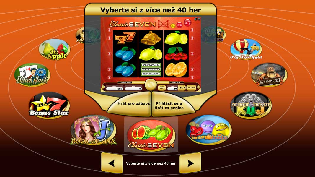 Kajot casino nabízí zajimavý kolotoč her!