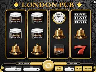 Kajot automaty - London Pub