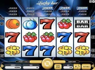 Kajot automaty - Lucky Bar