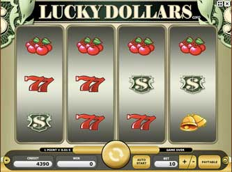 Kajot automaty - Lucky Dollars