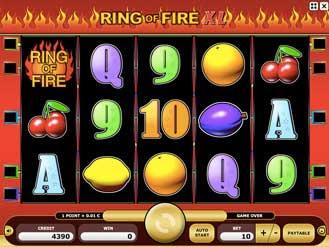 Kajot automaty - Ring of Fire XL