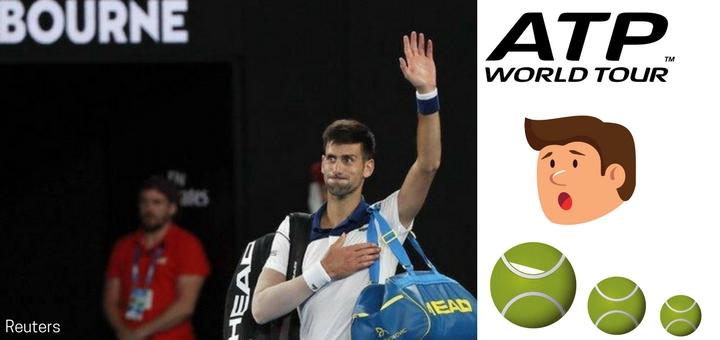 Senzacni vyrazeni Djokovice Australian Open 2018