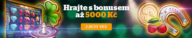 Casino Chance Vegas nabízí 5000 Kč bonus