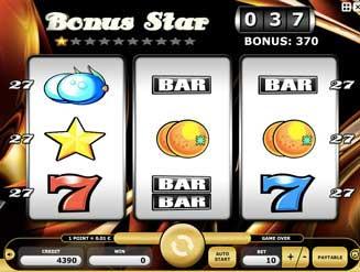 Kajot automaty - Bonus Star