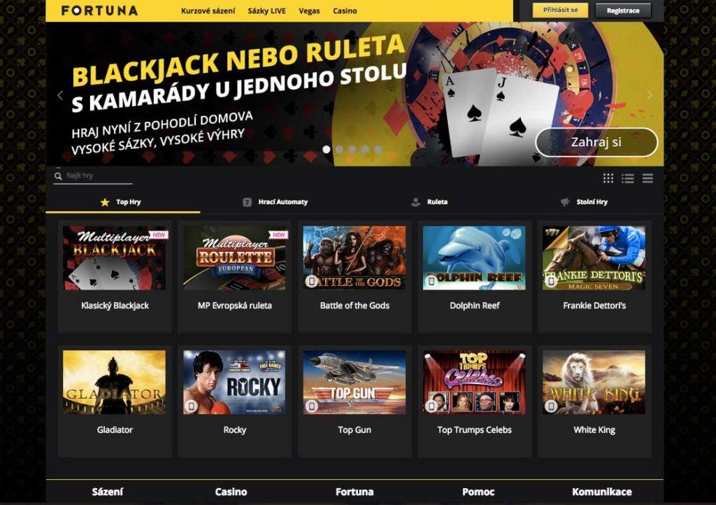 Online casino Fortuna Vegas