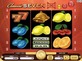Kajot automaty - Classic Seven