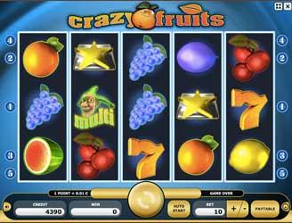 Kajot automaty - Crazy Fruits
