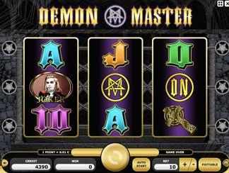 Kajot hra Demon master online
