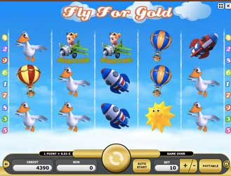Kajot automaty - Fly For Gold