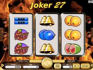 Kajot automaty - joker 27