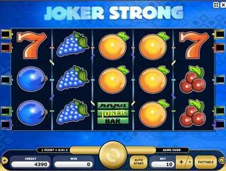 Vyzkoušej si automat Joker Strong