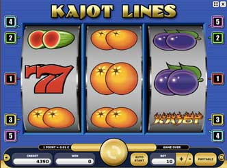 Kajot automaty - Kajot Lines