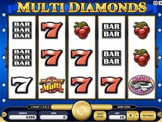 Kajot automaty - Multi Diamonds