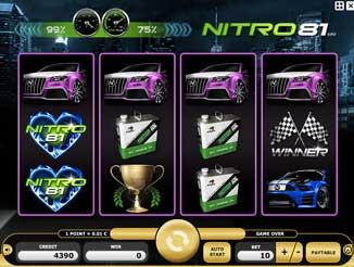 Kajot automaty - Nitro 81