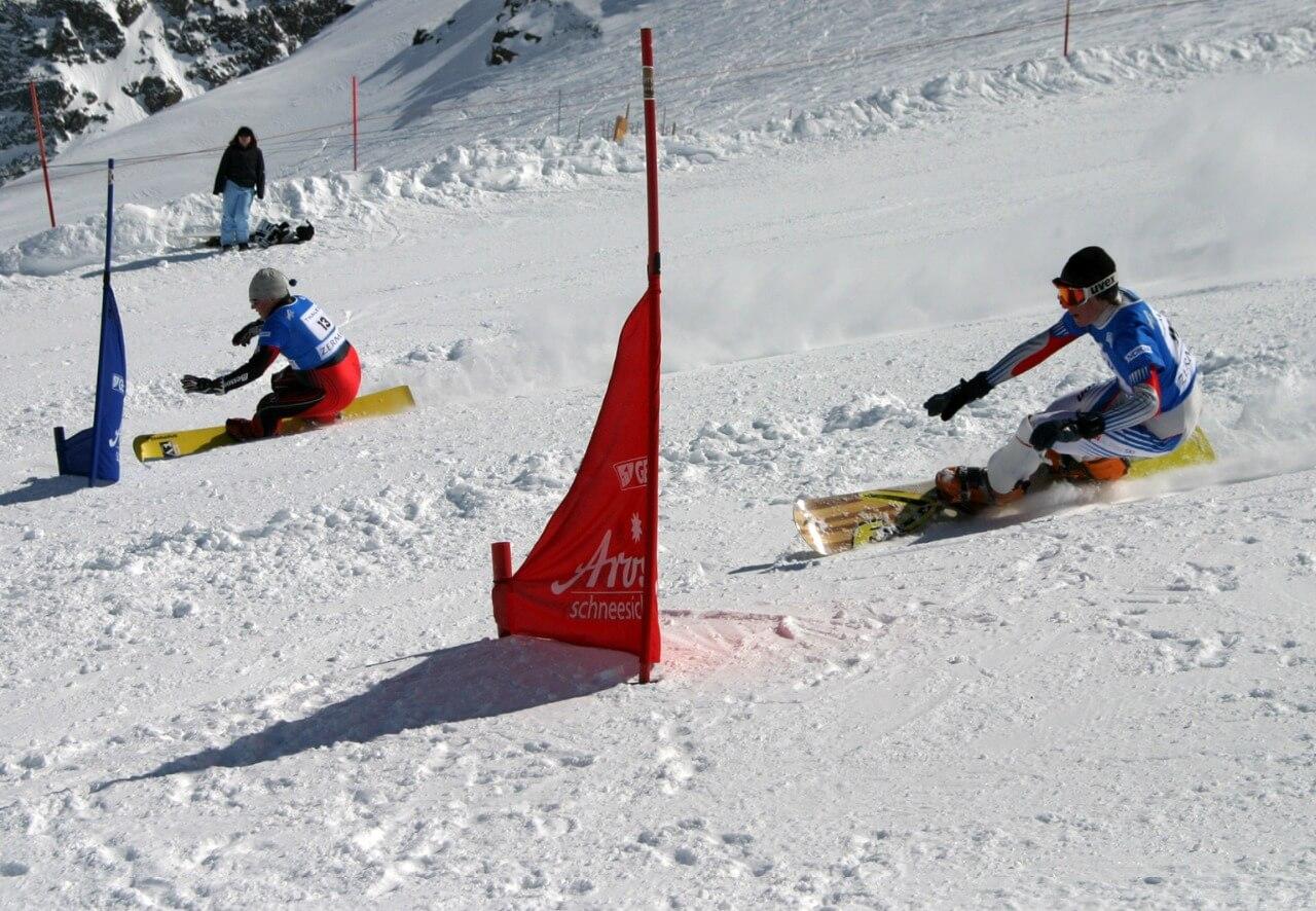 Obří paralelní slalom ZOH 2018