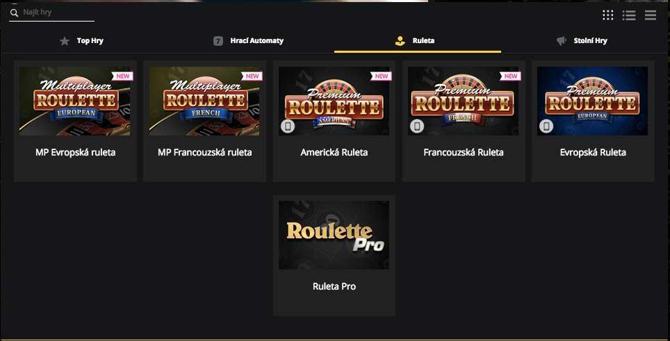 Casino Fortuna Vegas nabízí online ruletu zdarma