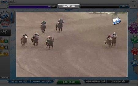 Koňské závody v casinu Kajot