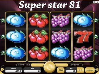 Kajot automaty - Super Star 81