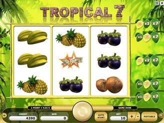 Kajot automaty - Tropical 7