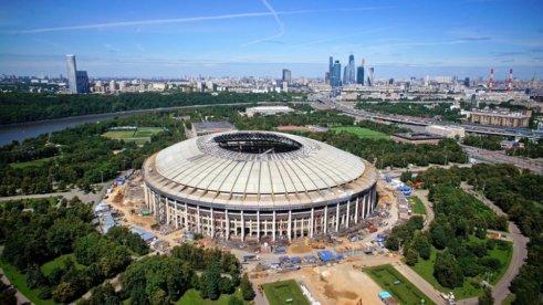 V moskevských Lužnikách se bude hrát finále.