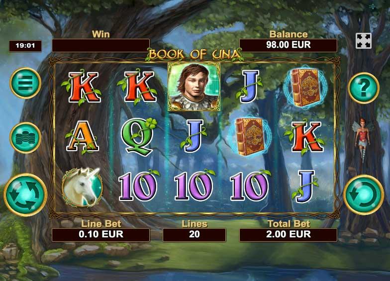 Kajot casino nabízí automat Book of Una bez nutnosti vkladu