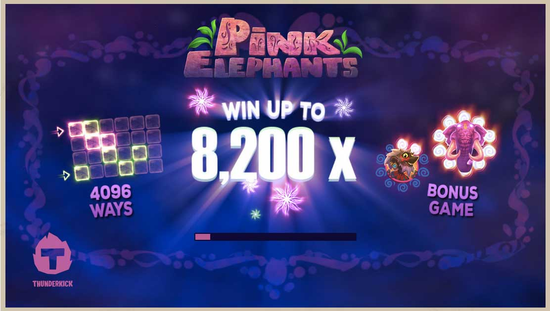 Vyzkoušej si herní automat Pink Elephants v Bob Casinu
