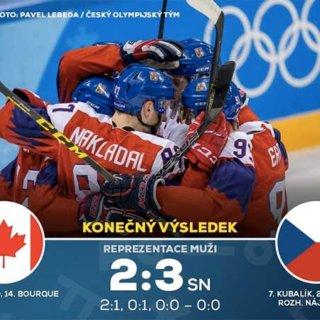 Neuvěřitelná zápas mezi českem a kanadou