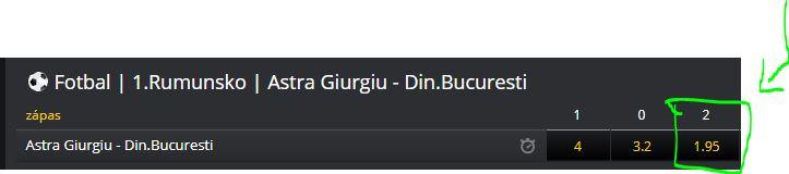 Free tipy na fotbal - Rumunska liga