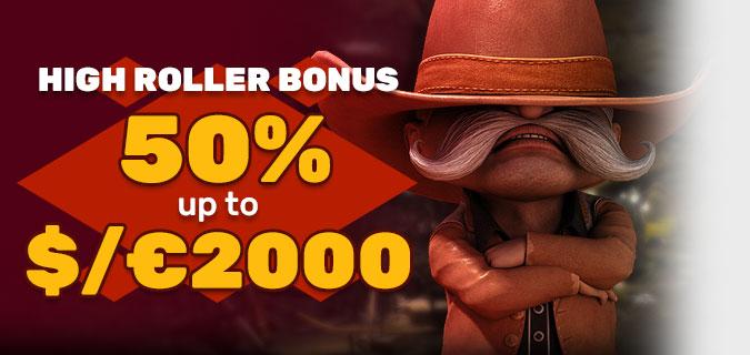 Online casino bonus pro velké hráče v Playamo
