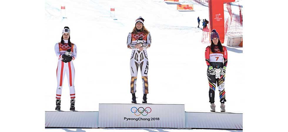 Ester Ledecká získala zlatou medaili v Jížní Korei 2018! Neuvěřitelné!