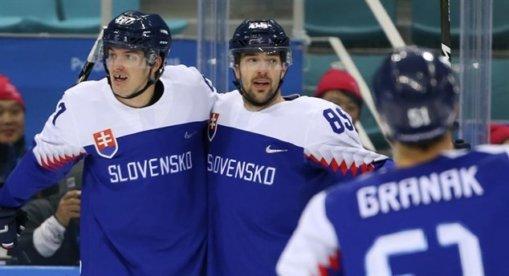 Slovensko - Rusko na ZOH 2018