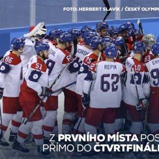 Česká republika porazila Švýcarsko 4:1 a vyhrála skupinu A